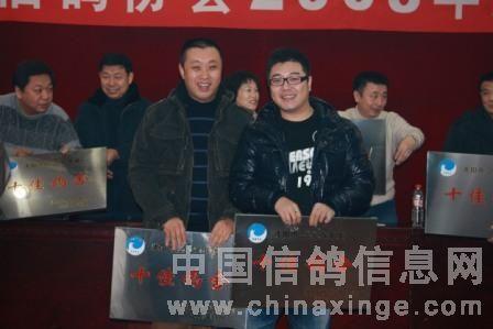 沈阳市信鸽协会2008年度表奖大会隆重召开